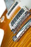 Guitarra electrónica Foto de archivo libre de regalías