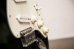 Guitarra electrónica Fotografía de archivo