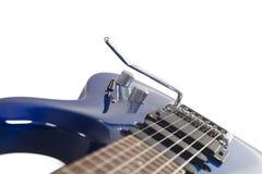 Guitarra elettric azul imagen de archivo