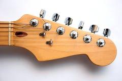 Guitarra elétrica principal Fotos de Stock Royalty Free