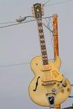 A guitarra em Sun grava o estúdio, Memphis Foto de Stock Royalty Free