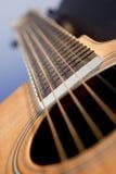 Guitarra en ángulo Fotografía de archivo