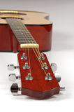 Guitarra en pesrpective con el DOP bajo Imagen de archivo