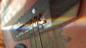 Guitarra ensolarada foto de stock