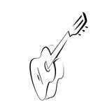 Guitarra española clásica libre illustration