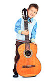 Guitarra grande Imagem de Stock