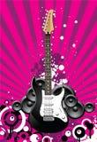 Guitarra hermosa Imágenes de archivo libres de regalías