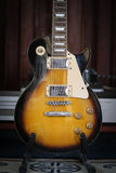 Guitarra lectric velha Imagem de Stock