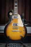 Guitarra lectric vieja imagen de archivo