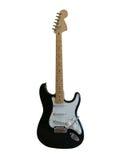 Guitarra negra imagen de archivo libre de regalías