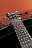Guitarra oca do corpo Imagens de Stock Royalty Free