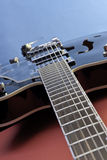 Guitarra oca do corpo Imagem de Stock Royalty Free