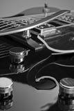 Guitarra oca do corpo Fotografia de Stock