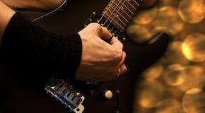 Guitarra pesada - #2 Imagen de archivo libre de regalías