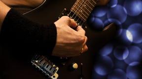 Guitarra pesada Fotografía de archivo