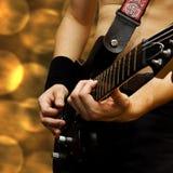 Guitarra pesada - #3 Imágenes de archivo libres de regalías