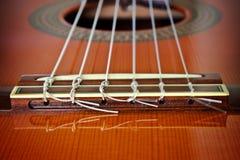Guitarra/ponte clássicas Imagens de Stock Royalty Free
