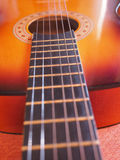Guitarra popular Imagens de Stock Royalty Free