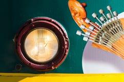 Guitarra portuguesa Royaltyfri Fotografi