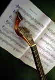 Guitarra portuguesa Foto de archivo libre de regalías