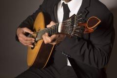 Guitarra portuguesa Imagens de Stock