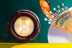 Guitarra portuguesa Royalty Free Stock Photography