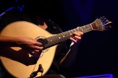 Guitarra portuguesa tradicional Foto de archivo libre de regalías