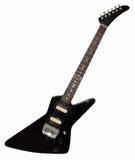 Guitarra preta da rocha Foto de Stock