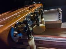 Guitarra que tunning Foto de Stock