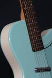 Guitarra retra Imagen de archivo libre de regalías