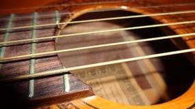 Guitarra (secuencias) Foto de archivo libre de regalías