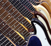 guitarras Fotos de Stock Royalty Free