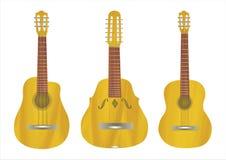 Guitarras Imagen de archivo libre de regalías