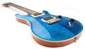 Guitarras eléctricas aisladas Fotos de archivo libres de regalías