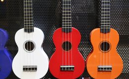 guitarren Lizenzfreies Stockbild