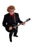 Guitarrista fotos de archivo