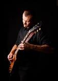 Guitarrista fotografia de stock royalty free