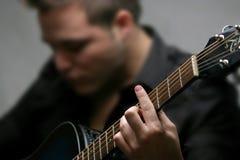 Guitarrista Imagens de Stock Royalty Free