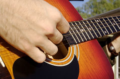 Guitarrista Fotos de Stock