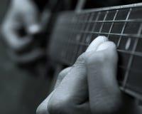 Guitarrista imagem de stock royalty free