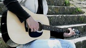 Guitarrista almacen de video
