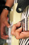 Guitarrista Fotos de archivo libres de regalías