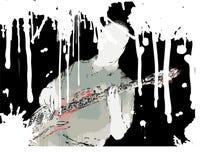 Guitarrista de Grunge ilustração do vetor