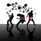 Guitarristas Imagem de Stock