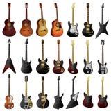 Guitars royalty free illustration