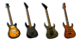 The guitars Stock Photo