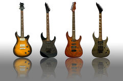 The guitars Stock Photography