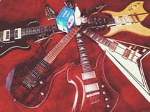 guitars Fotografia Stock