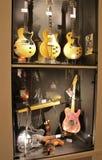 Guitars - the Museum, Umeå Royalty Free Stock Photo