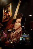 Guitars and records from Elvis Royalty Free Stock Image